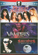 Blood Angels / Vampires: Out For Blood / Succubus (Horror Triple Feature) Movie