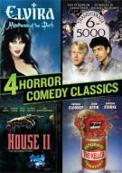 4 Horror Comedy Classics (Elvira / Transylvania 6-5000 / Return Of The Killer Tomatoes / House II) Movie