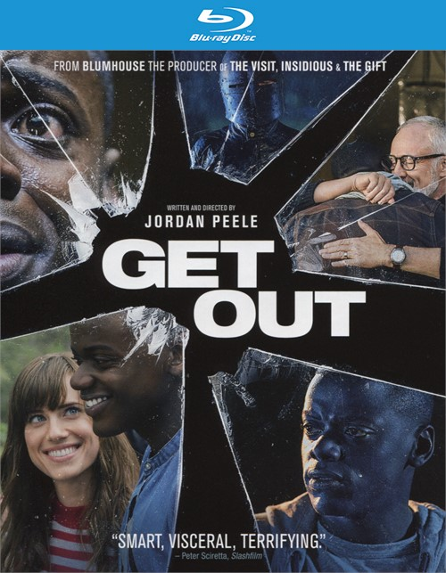 Get Out (Blu-ray + DVD + UltraViolet) Blu-ray