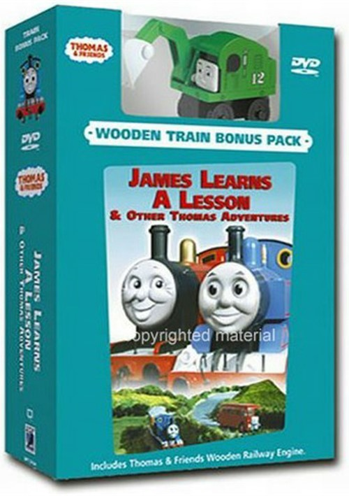 Thomas & Friends: James Learns A Lesson (with Train) Movie