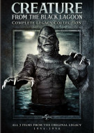 Creature From The Black Lagoon: Complete Legacy Collection Movie