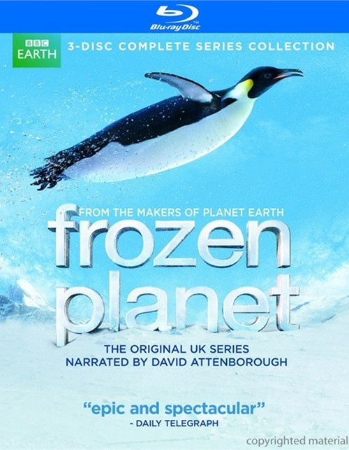 Frozen Planet Blu-ray