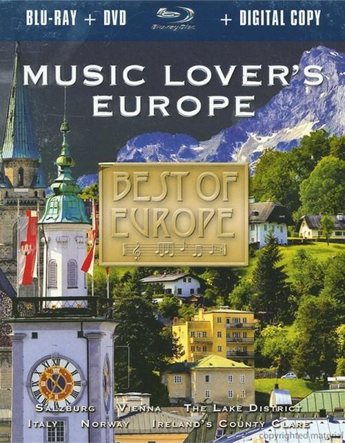 Best Of Europe: Music Lovers Europe (Blu-ray + DVD + Digital Copy) Blu-ray