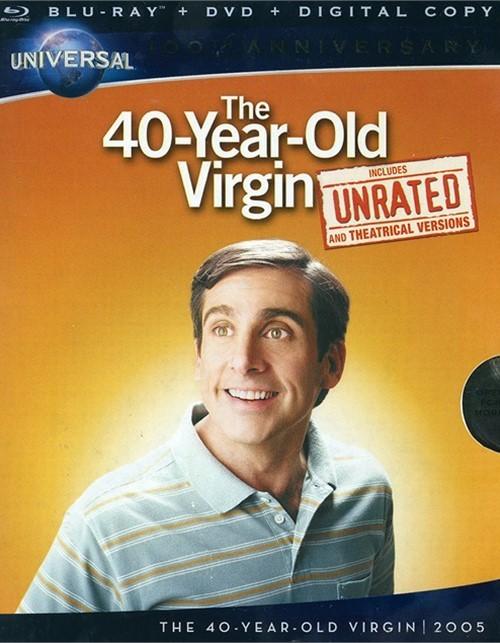 40-Year-Old Virgin, The (Blu-ray + DVD+ Digital Copy) Blu-ray