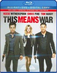 This Means War (Blu-ray + DVD + Digital Copy) Blu-ray