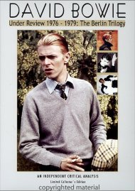 David Bowie: Under Review 1976-79 - The Berlin Trilogy Movie