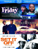 Friday / Menace II Society / Set It Off (Triple Feature) Blu-ray