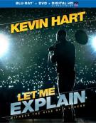 Kevin Hart: Let Me Explain (Blu-ray + DVD + UltraViolet) Blu-ray