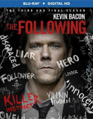 Following, The: The Complete Third Season (Blu-ray + UltraViolet) Blu-ray