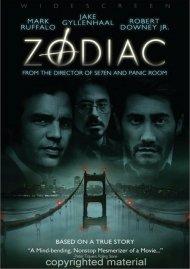 Zodiac (Widescreen) Movie