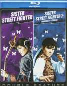 Sister Street Fighter / Sister Street Fighter 2: Hanging By A Thread (Double Feature) Blu-ray