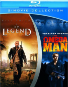 I Am Legend / Omega Man, The (Double Feature) Blu-ray