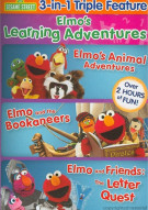 Elmos Learning Adventures (Triple Feature) Movie