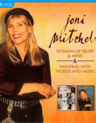 Joni Mitchell A Life Story: Woman Of Heart And Mind / Painting With Words And Music (Double Feature) Blu-ray