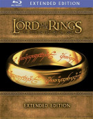 Lord Of The Rings, The: The Motion Picture Trilogy - Extended Editions Blu-ray