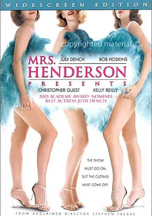 Mrs. Henderson Presents (Widescreen) Movie