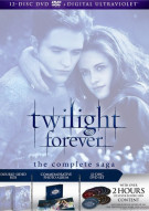 Twilight Forever: The Complete Saga (DVD + UltraViolet) Movie