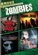 4-Movie Midnight Marathon Pack: Zombies Movie